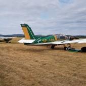 Gminny Piknik Lotniczy - samolot Moran i dalej Tulak