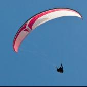 Paralotnie nad Cerną Horą