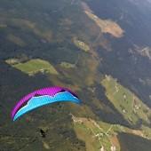 Cerna Hora - Paragliding Fly, Paweł na swoim Rusch'u.