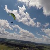 Kudowa - Radków Paragliding Fly, Latanie nad pagórem w Czermnej.