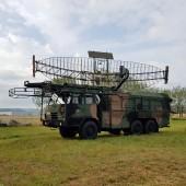 Gminny Piknik Lotniczy - goście z wojsk radiotechnicznych