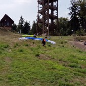 Czekają na start., Dzikowiec Paragliding Fly Boguszów - Gorce