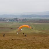 Mieroszów Paragliding Fly, Jesienne latanie i zawody na celność.