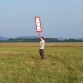 Towarzystwo Lotnicze Świebodzice kurs podstawowy 2018 dzień 4, Test tarczy, biała czy czerwona, a może biała ?