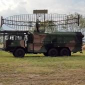Gminny Piknik Lotniczy - goście z wojsk radiotechnicznych.