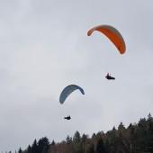 Monte Muero - zabawa na silnym wietrze
