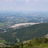 Międzybrodzie Żywieckie 25 maj 2014, Góra Żar widoki przepiękne.