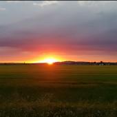 Wschód słońca nad EPWC