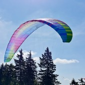 Cerna Hora Paragliding Fly, Start