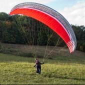 Lądowanie na paralotni