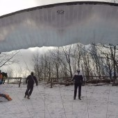 Mój start, Srebrna Góra Paraglaiding Fly