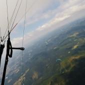 Cerna Hora Paragliding Fly, Wspólne latanie nad górką :)