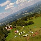 Kozakov Paragliding Fly, Startowisko na Kozakovie