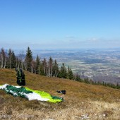 Kowary Wałowa Góra, Paragliding Fly Wałowa Góra - Rudnik - Lubawka