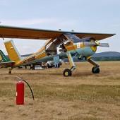 Gminny Piknik Lotniczy - samolot Wilga