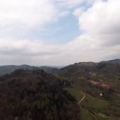 Srebrna Góra Paragliding Fly, Widok na Twierdze.