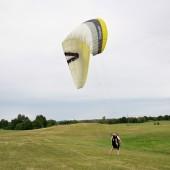 Mazurski groundhandling, Mazurskie latanie swobodne po łące