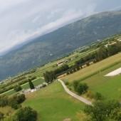 Miejsce do lądowania w Sasso d'Oro