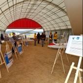 Towarzystwo Lotnicze w Świebodzicach 2018, Gminny Piknik Lotniczy - wystawa zdjęć lotniczych i szybowców.