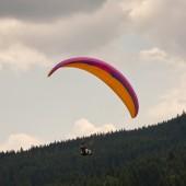 Loty z Czarnej Góry koło Stronia Śląskiego