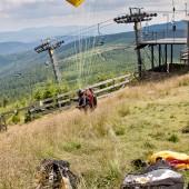 Czarna Góra - Stronie Śląskie lipiec 2014, Start z Czarnej Góry
