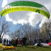 Srebrna Góra - Paragliding Fly, Rekordowa frekwencja na starcie.