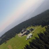 Cerna Hora schronisko na szczycie.