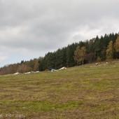 Mieroszów jesienny, latanie na Mieroszowie