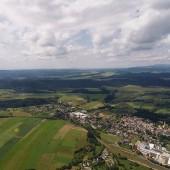 Monte Mieroszów - Paragliding Fly, Przedpole nosiło po całości.