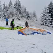 Zimowy Klin-Andrzejówka Paragliding Fly, Startowisko na Klinie