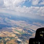 Na dole od lewej Dzierzków i Gniewków, a nad nimi Wiadrów
