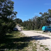 Tolmin - Kobala - Stol, Parking na Kobali widok w stronę startowiska.