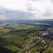 Monte Mieroszów - Paragliding Fly, Ulewa coraz bliżej.