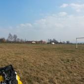 Przelot, Mieroszów - Pożarzysko, Lądowanie po 50 km lotu, w Pożarzysku