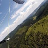Mieroszów - Paraglidnig Fly, Szpicak, tu nawracamy.