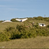Czescy lotniarze na Łysajce w Bielawie
