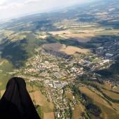 Cerna Hora Paragliding Fly