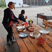 Lotniskowe śniadanie