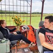 Romantycznie na wyciągarce., Aeroklub Opolski, wakacje na lotnisku.
