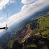 Andrzejówka - Paragliding Fly, Kopania w Rybnicy Leśnej.