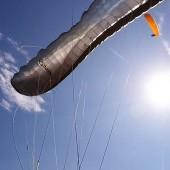 Mieroszów - Paraglidnig Fly, Delta2 jednak się marszczy.