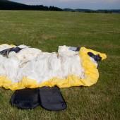 Mieroszów dał polatać na koniec czerwca., Po lądowaniu czas na składanie.