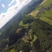 Kudowa - Radków Paragliding Fly, Widoki z Czermnego pagóra.