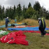 Andrzejówka - Klin Paragliding Fly, Trochę nas było.
