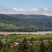 Widok z Jaworzynki na zalew