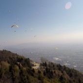 Bassano Crash - Paragliding FLy