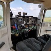 Gminny Piknik Lotniczy - samolot Cesna
