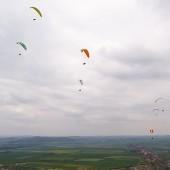 Srebrna Góra Paragliding Fly, Klucze glajtów na przedpolu.