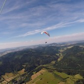 Monte Mieroszów - Paragliding Fly, stranger in the air