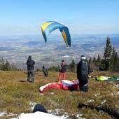 Wołowa Góra - Kowary, Paragliding Fly